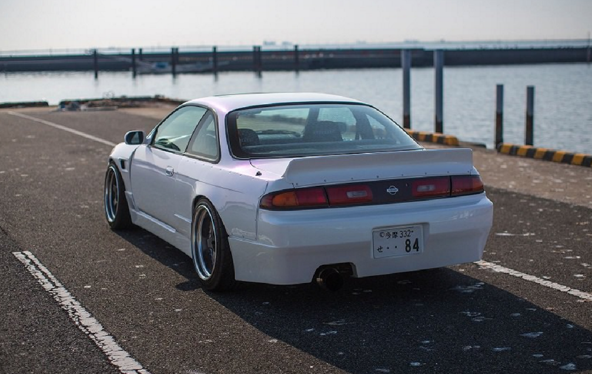 Nissan Silvia 240sx S14 94 99 Ducktail Wing Wideworks